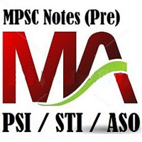 MPSC Notes Pre (STI /PSI ASO)